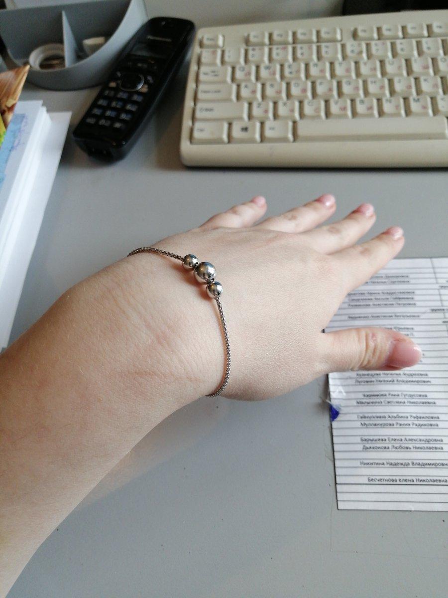 Легкий, интересный браслет
