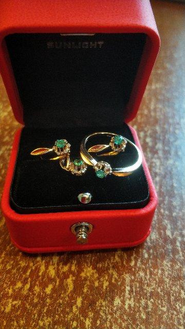 Подвеска, кольцо и серьги