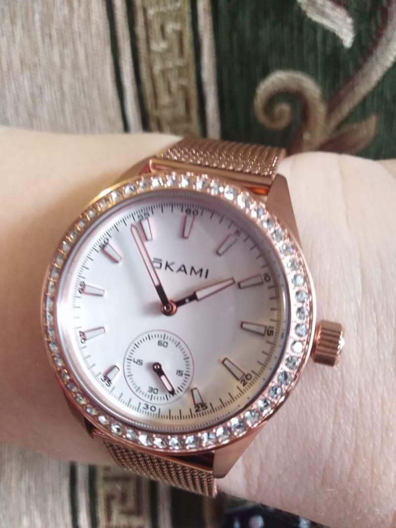 Часы красивые. Хорошо смотрятся на руке. Но гарантия Санлайта, 6 месяцев.