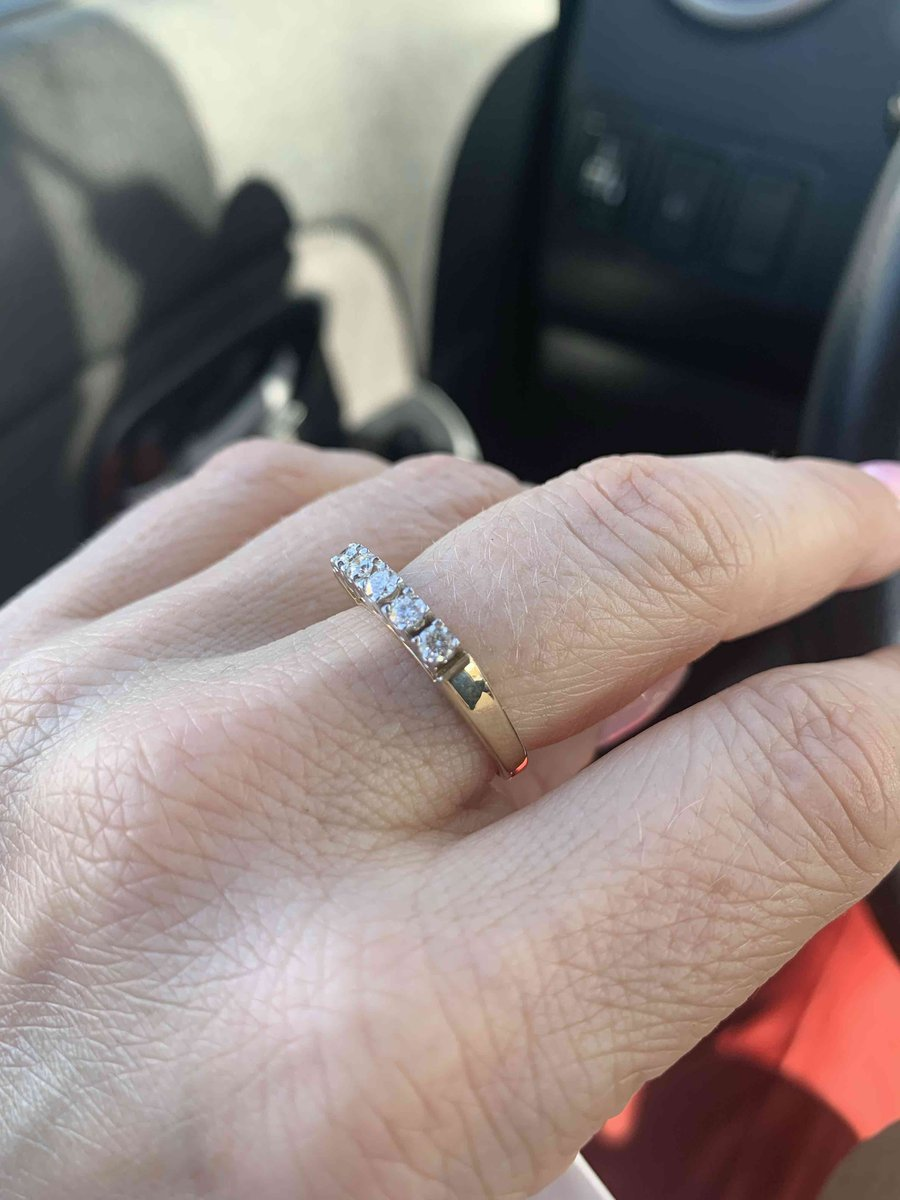 Приобрела кольцо онлайн
