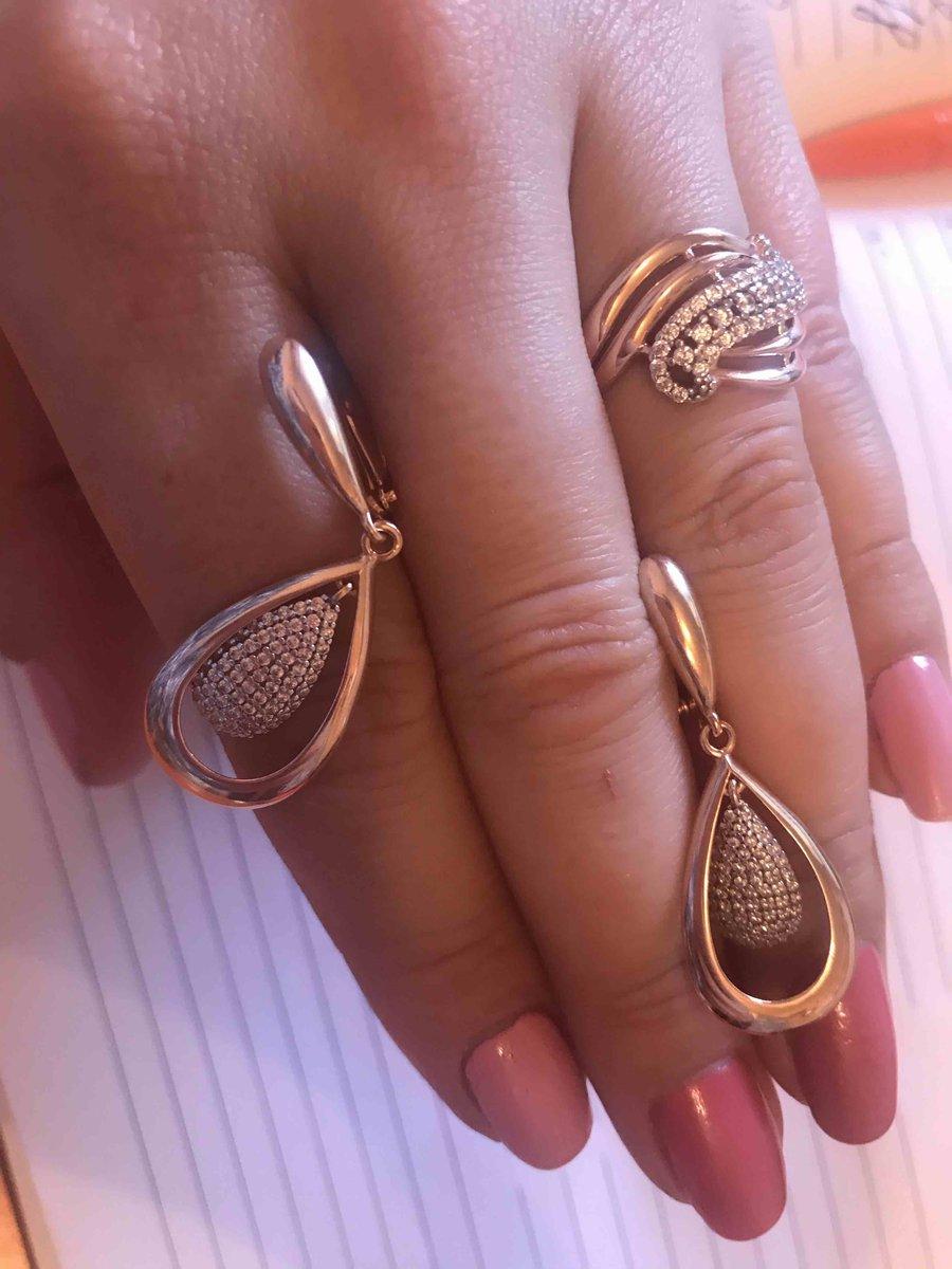 Кольцо под цвет розового золота
