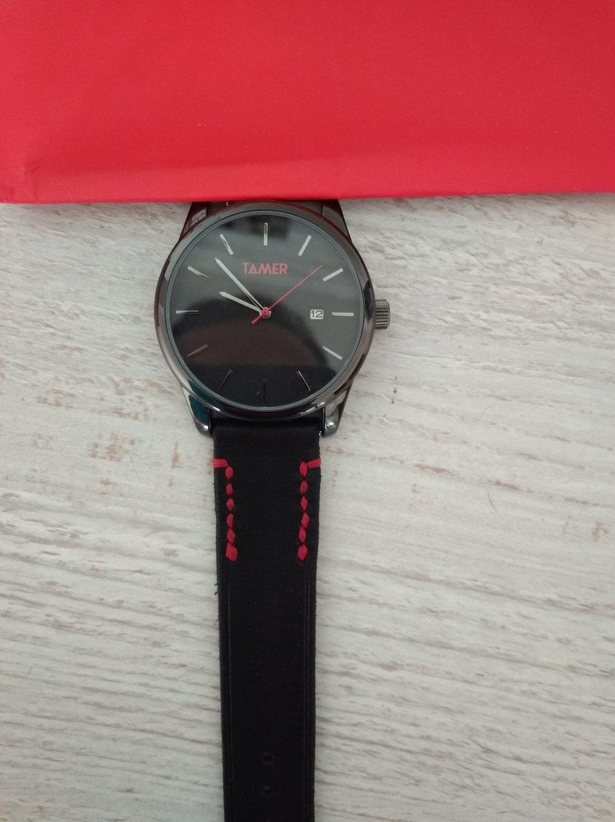 Я заказал на день рождения часы.