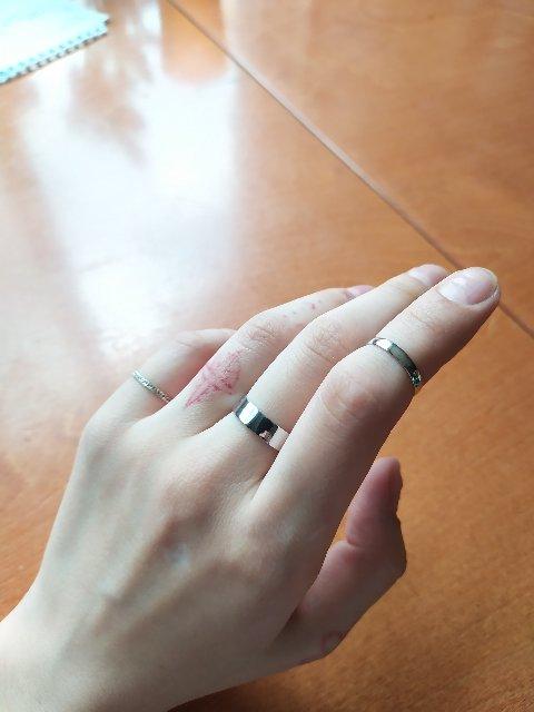 Хорошее кольцо, подойдет для собственной гравировки