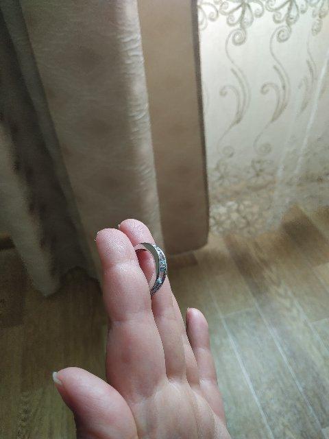 Колечко с камнем