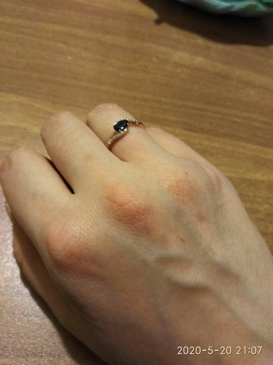 Милое, удобное кольцо