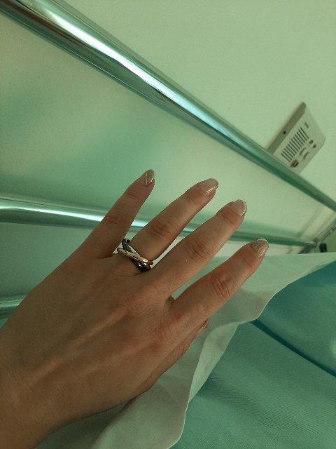 Кольцо тринити от Картье