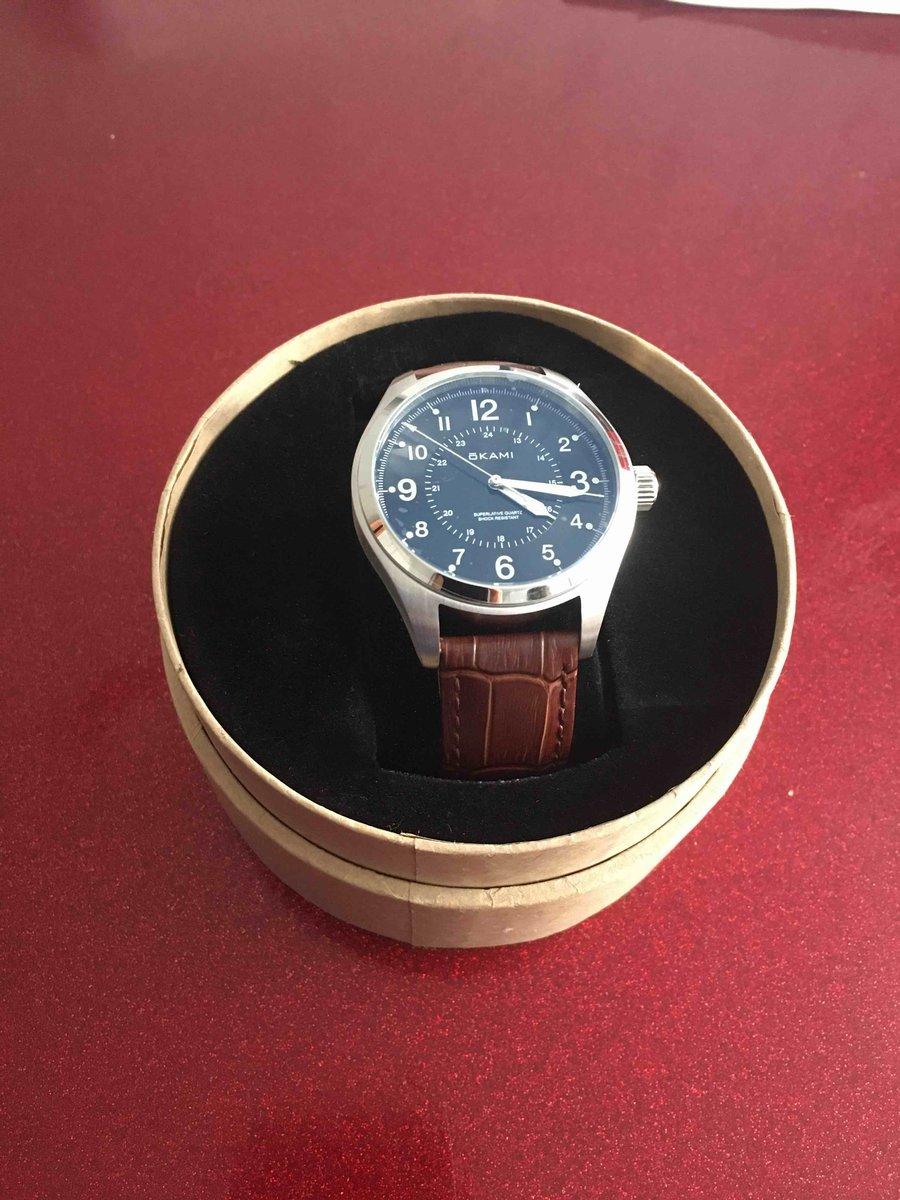 Купила часы для мужа