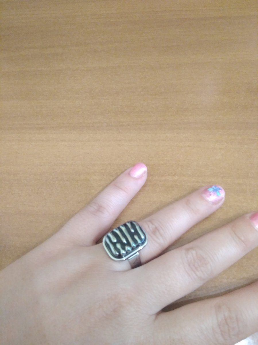 Кольцо с мурманским стеклом