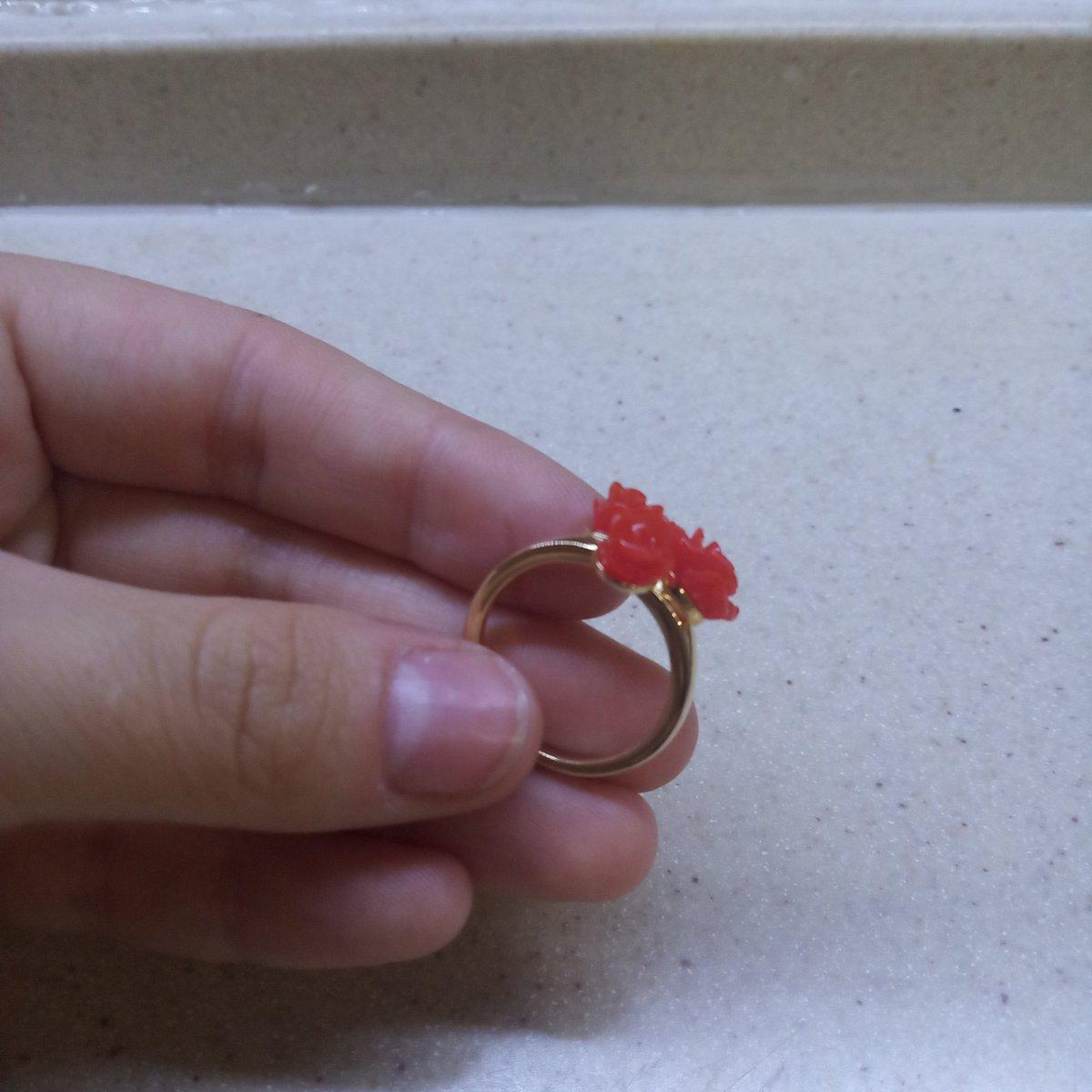 Кольцо из комплекта!