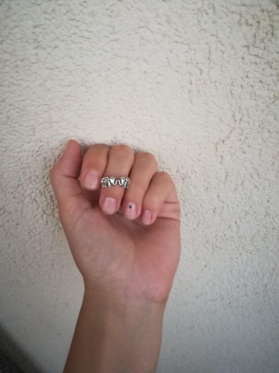 Кольцо с 2мя слониками🐘🐘