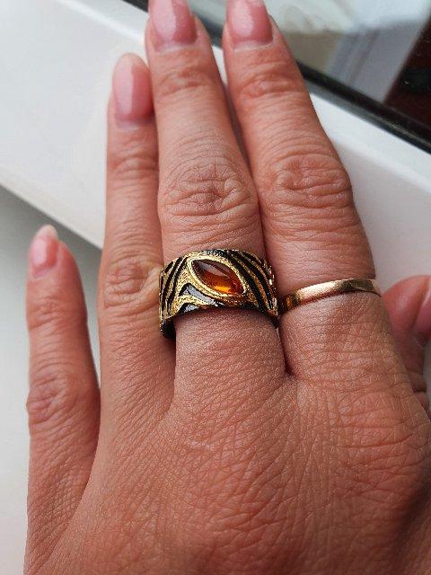 Шикарное кольцо! Подарю подруге на День Рождения!