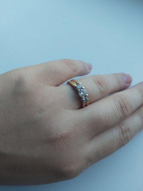 Мое шикарное кольцо.