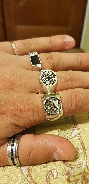 Печатка на указательный палец