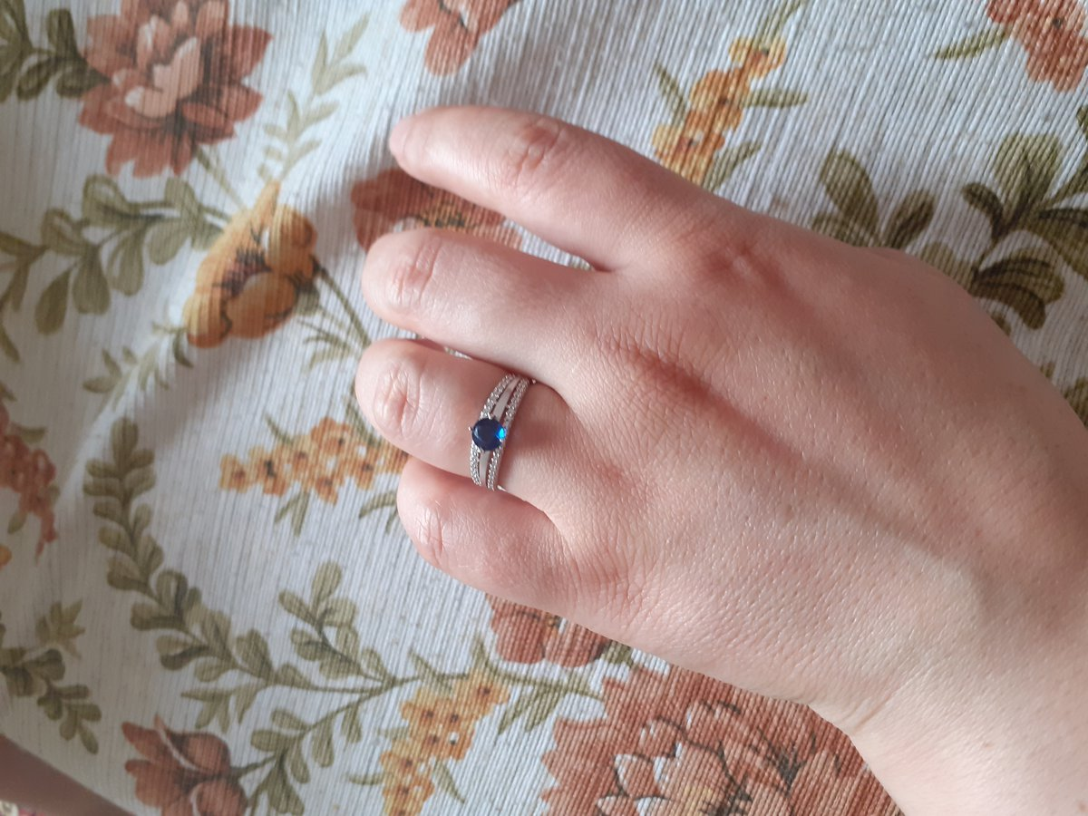 Подарок мужа супер кольцо с фианитами