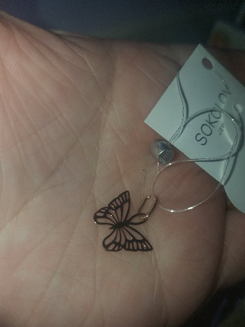 Красота ❣Очень  нежная  бабочка .