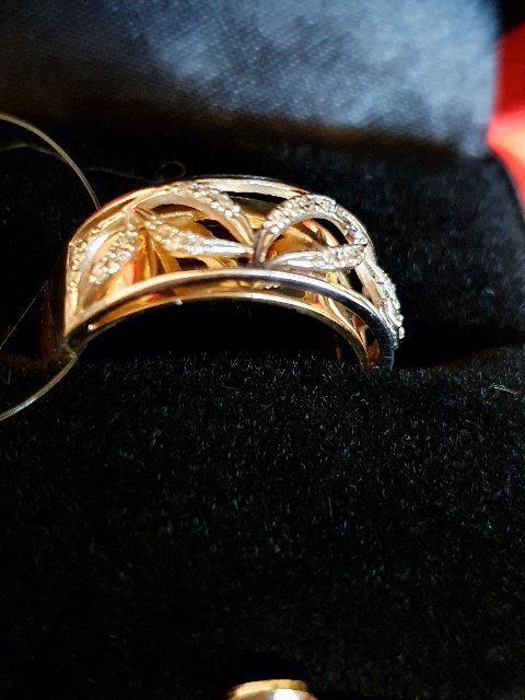 Кольцо с бриллианты Якутии