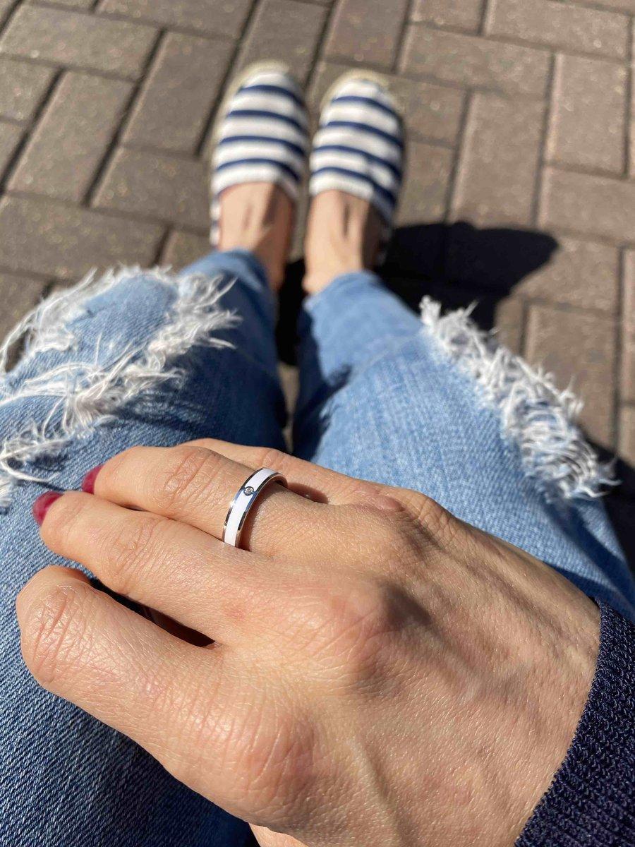 Стильное, лаконичное и «дорогое» кольцо