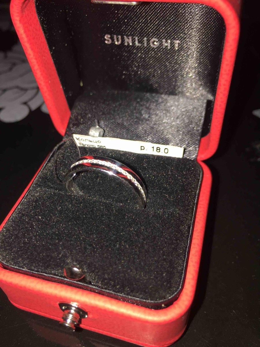 Элегантное кольцо для приятного повода