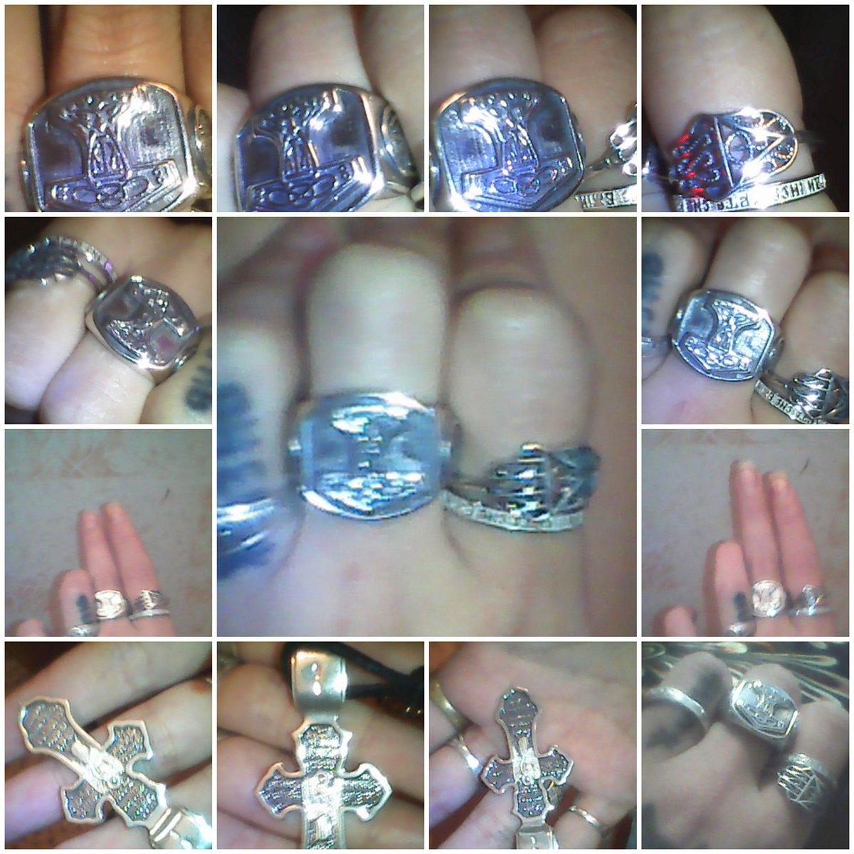 Большой двухсантиметровый перстень с молотом тора.