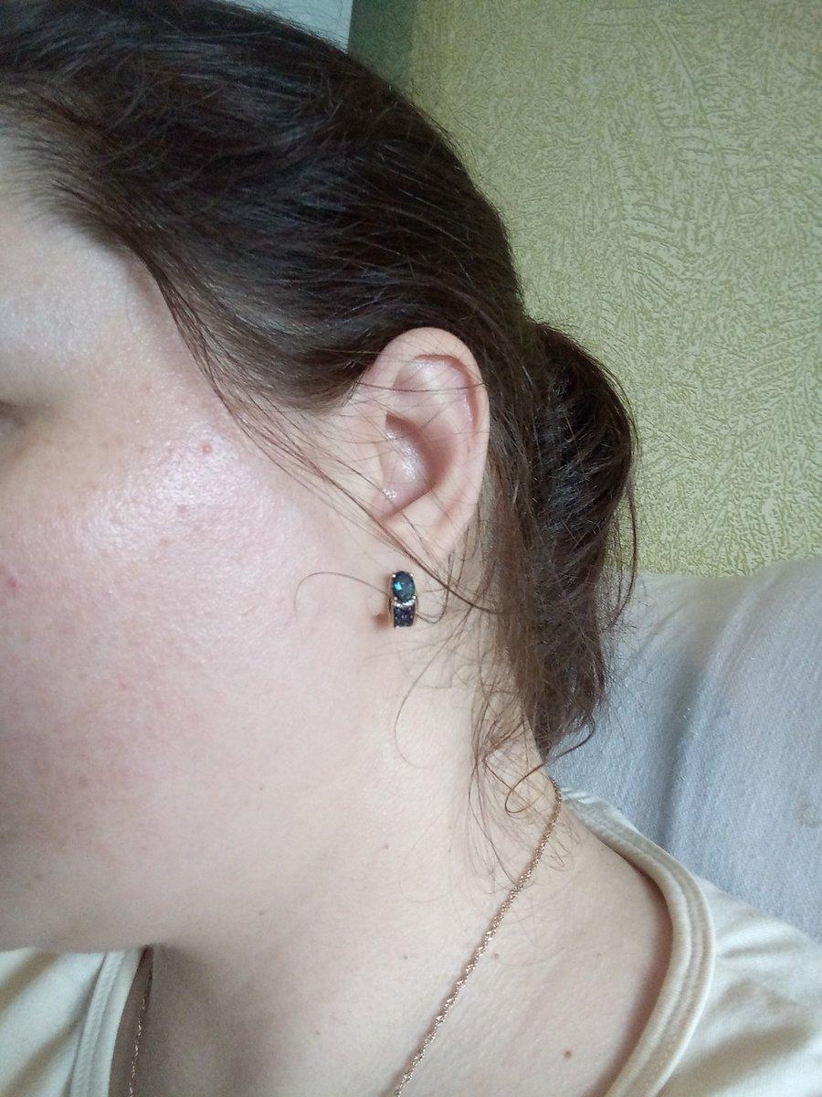Отличные серьги, удобные, смотрятся шикарно и обращают на себя внимание)))