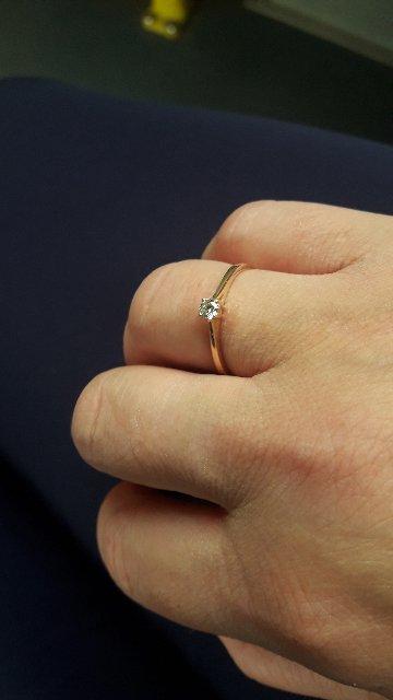 """Кольцо """"бриллианты якутии"""""""