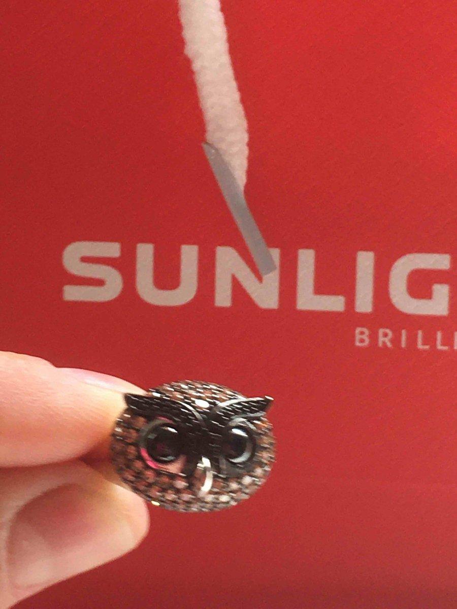 Кольцо совушка в серебре