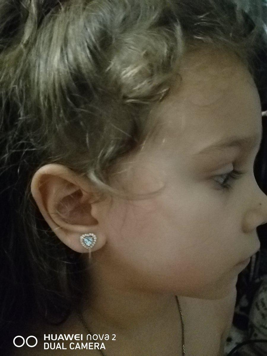 Дочке серёжки понравились