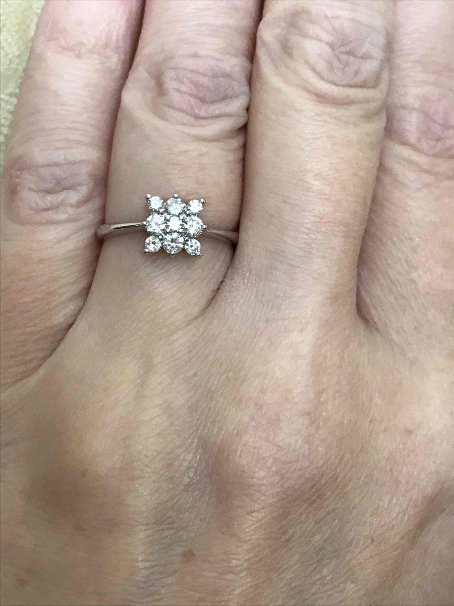 Кольцо бриллианты якутии