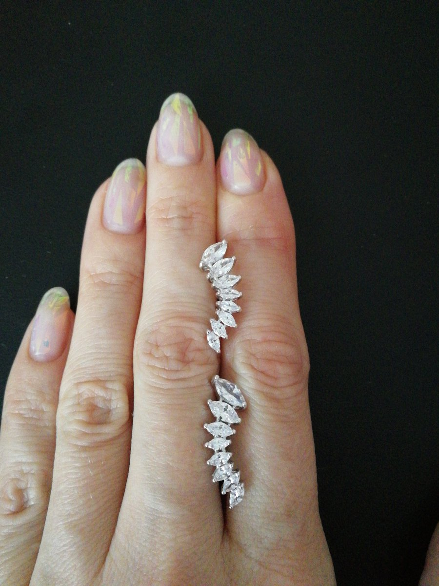 Красивые серёжки