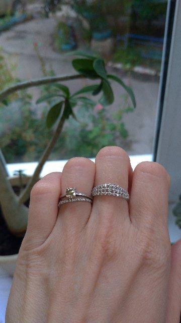 3 дорожки из бриллиантов