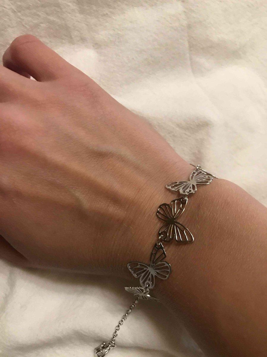 Советую браслет бабочка
