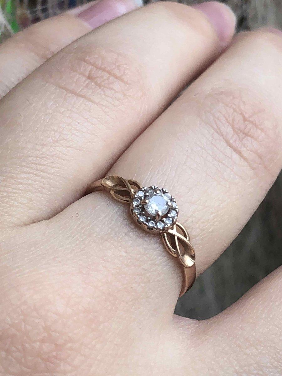 Красивое качественное кольцо