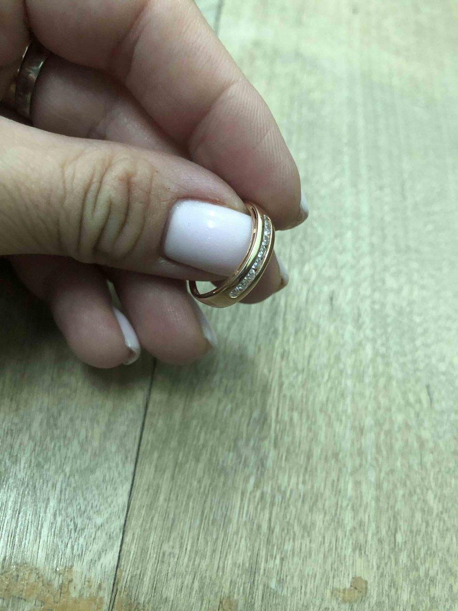 Кольцо изящное