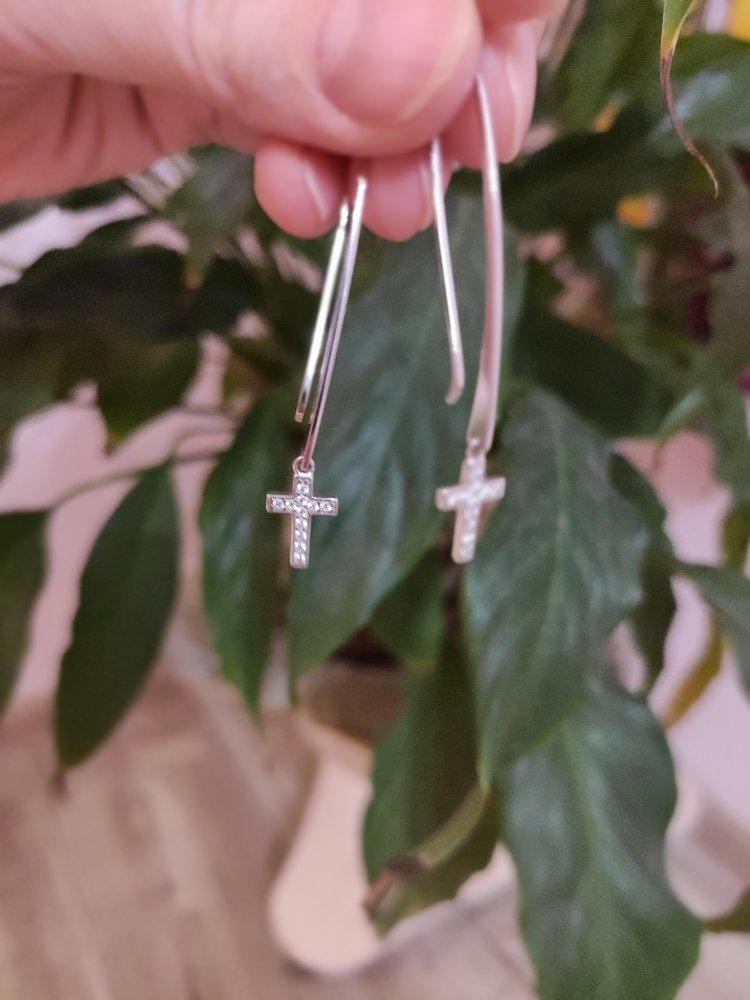 Серьги-крестики