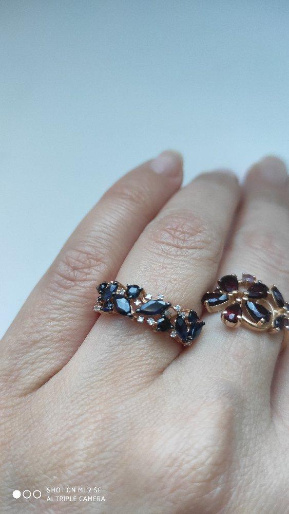 Сапфиры с бриллиантами