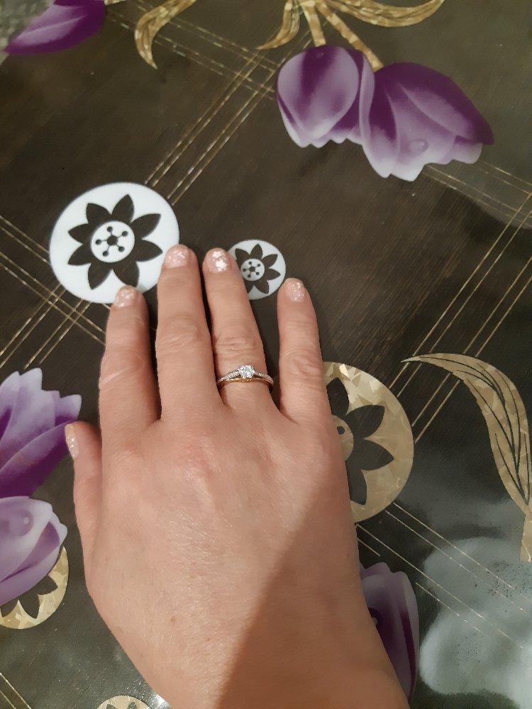 Очень красивое кольцо,всем рекомендую.