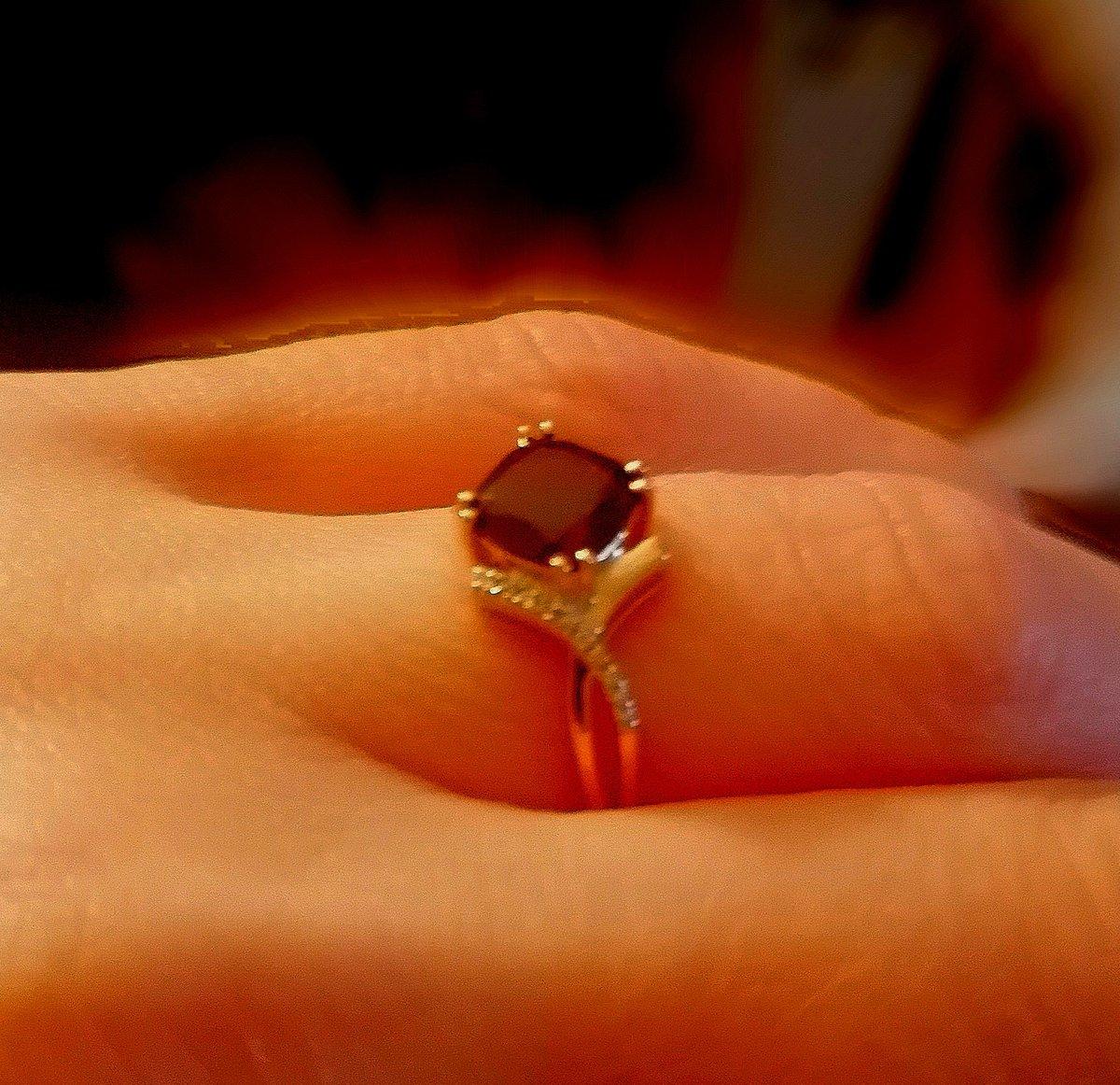 Кольцо 💍 к серьгам