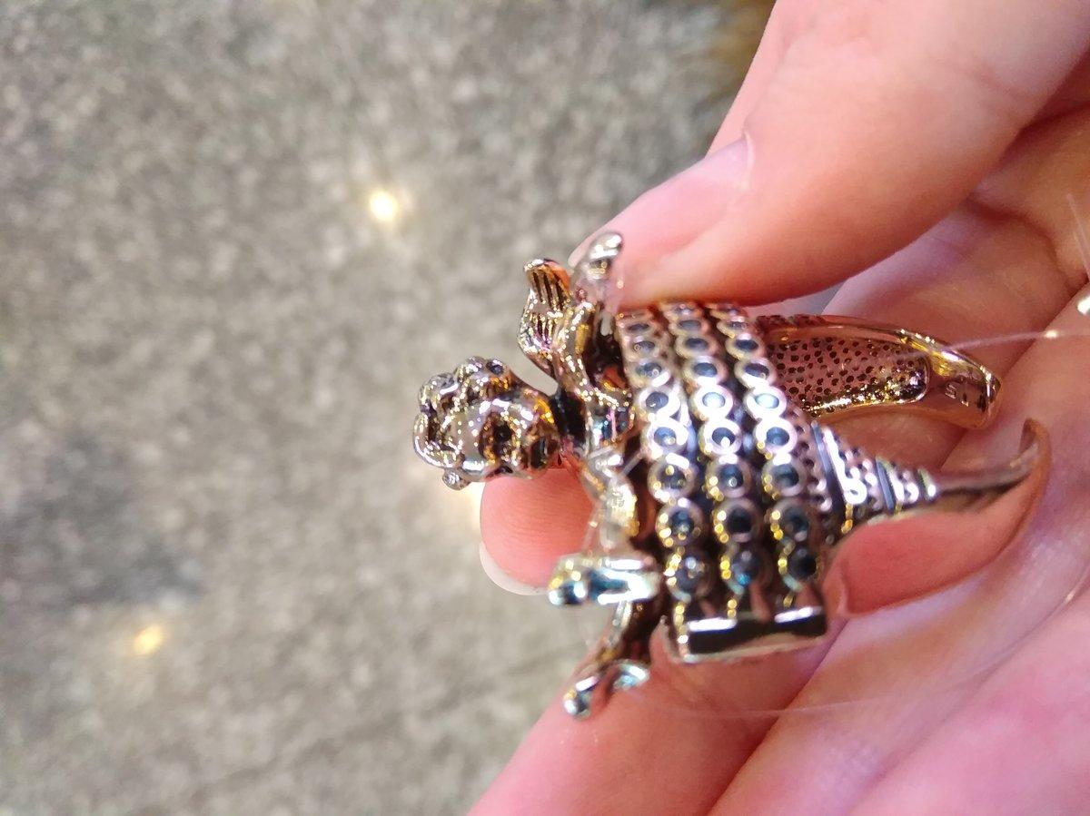 Необычное винтажное кольцо