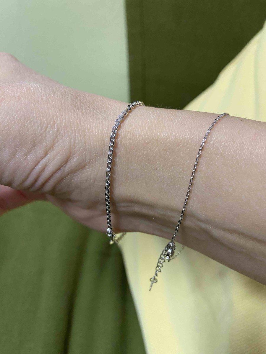 Серебряный браслет- «якорная цепь»