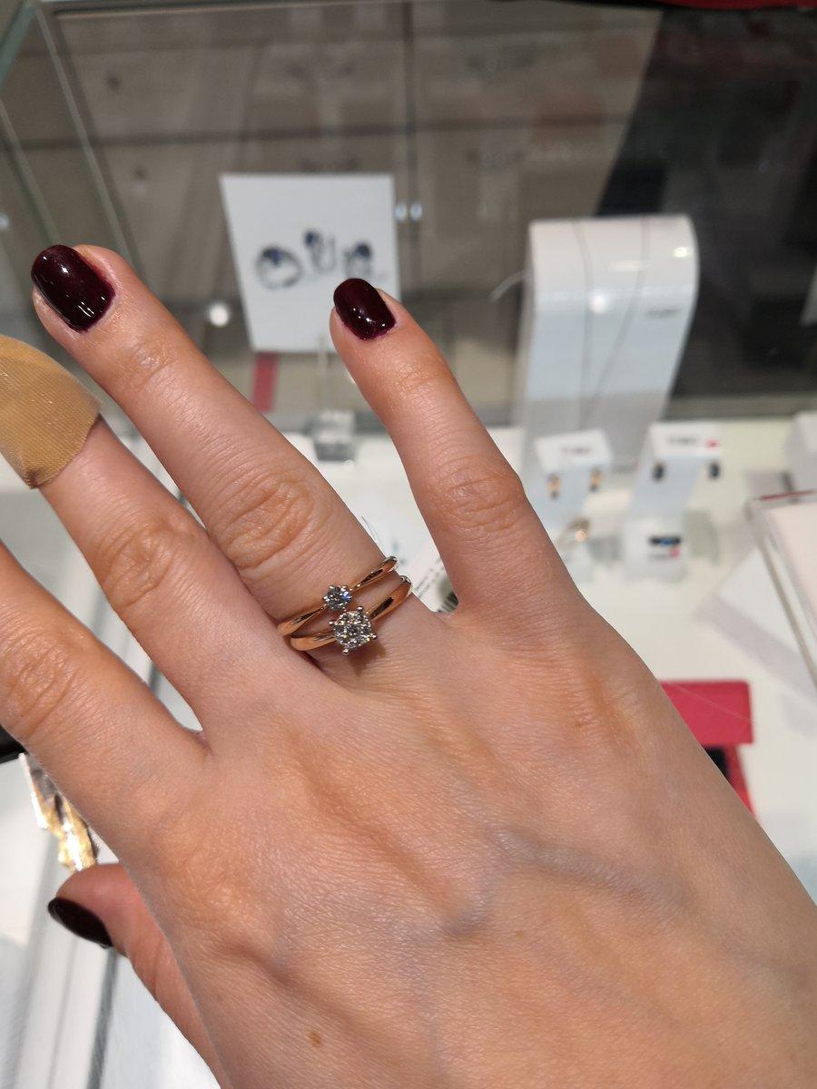 Милое помолвочное кольцо