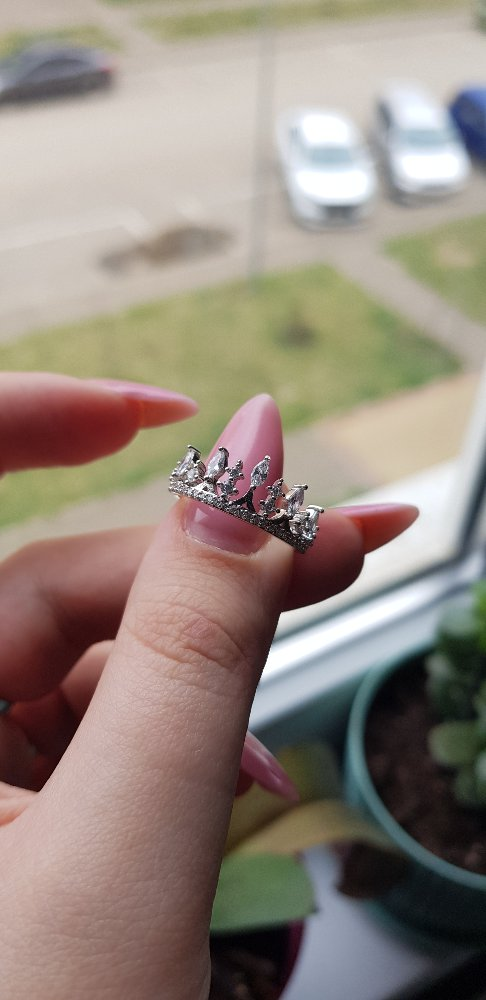 Колечко корона)