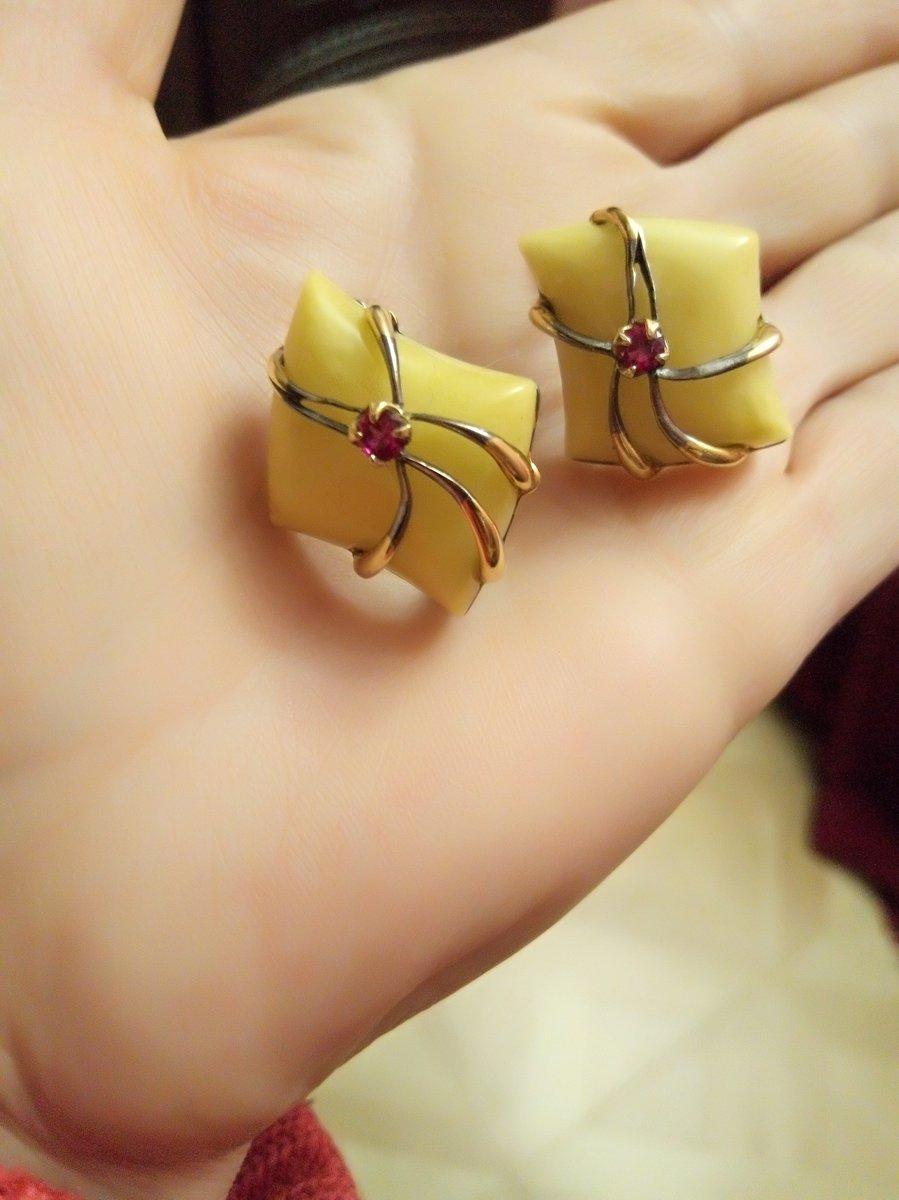 Моя мечта сбылась!!! серьги с янтарём светло- медового цвета.