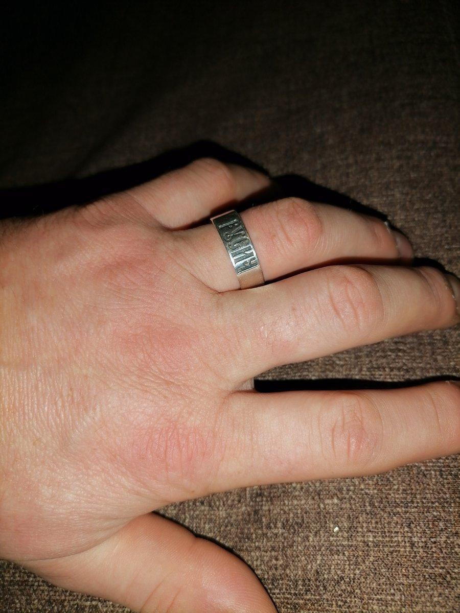 Отличное прочное кольцо