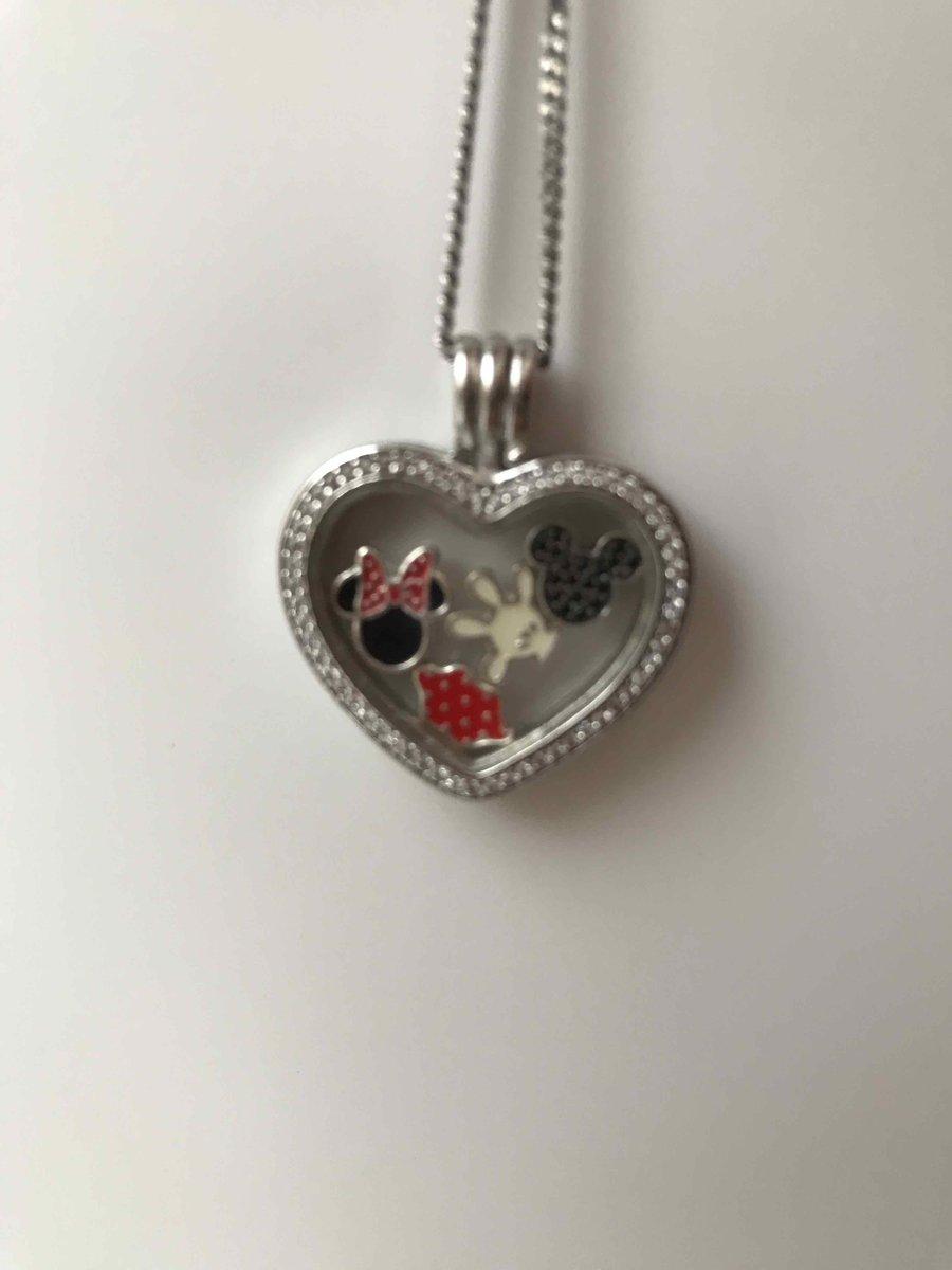 Медальон в виде сердечка