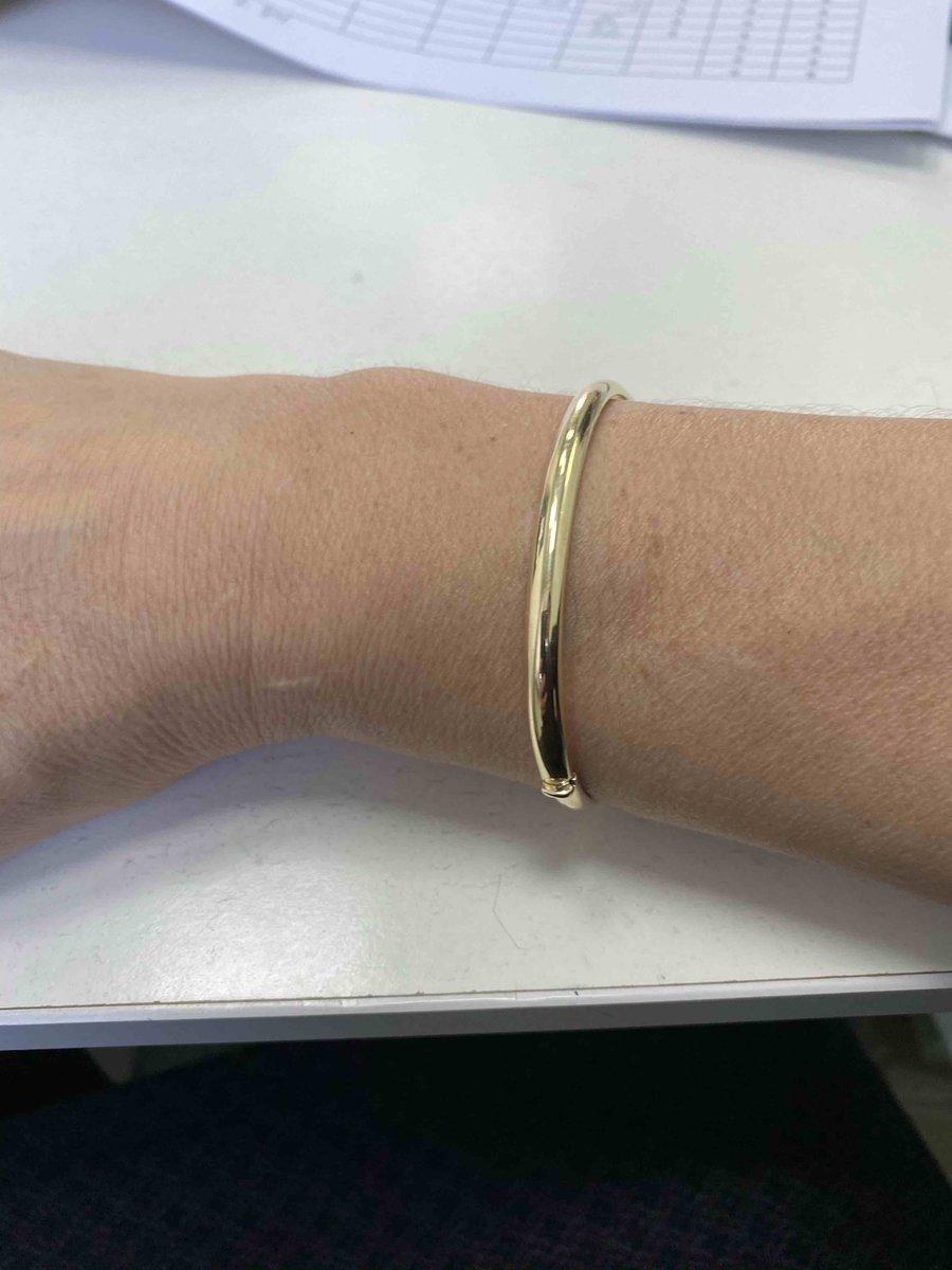 Купила золотой браслет