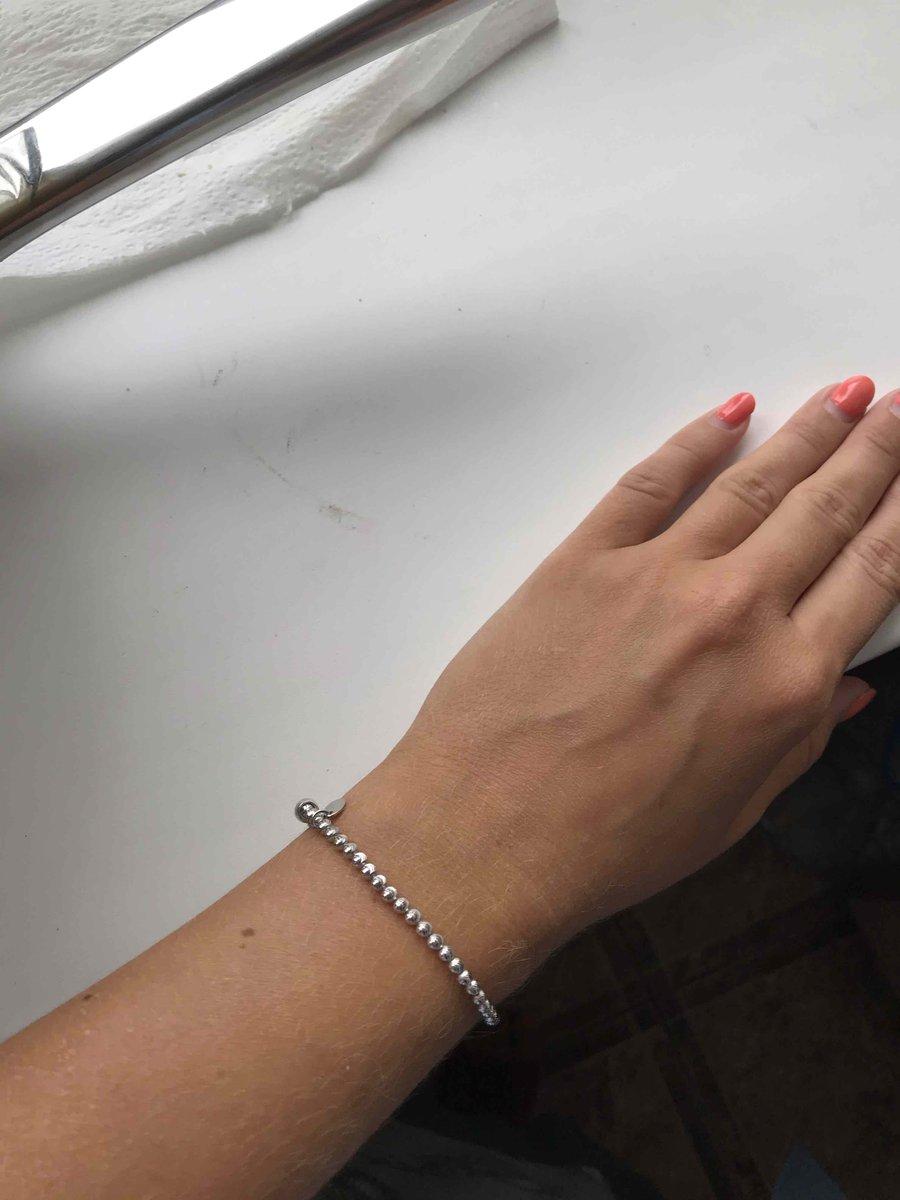 Серебряный браслет (италия)