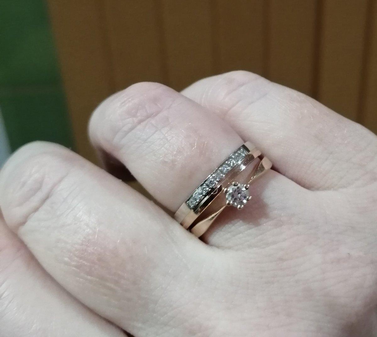 Самое нежное обручальное кольцо