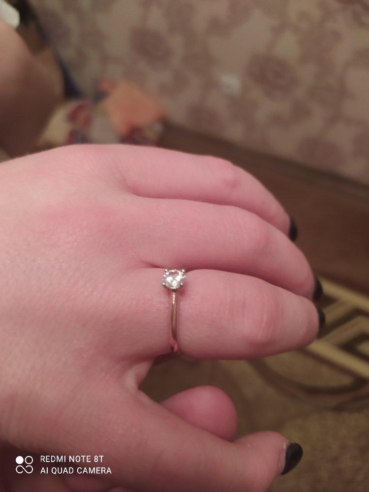 Купил кольцо в подарок девушке