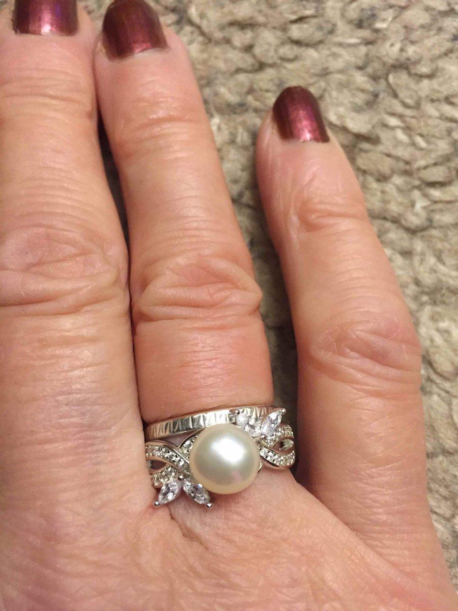 Перстень с жемчугом