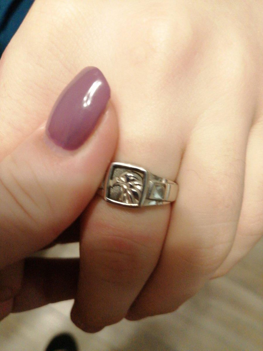 Перстень с вороном